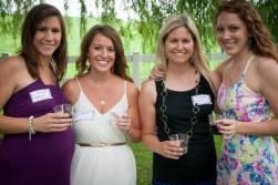 The hostesses!