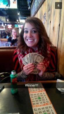 Back when I finally won!!