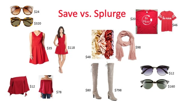 splurge-v-save