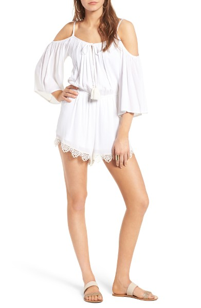 Cold-Shoulder-Romper