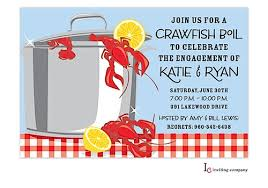 Crawfish invites